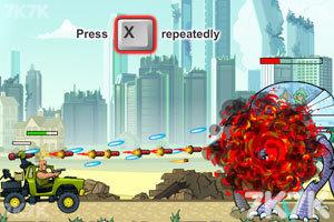 《武装越野车无敌版》游戏画面8