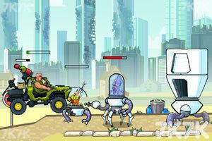 《武装越野车无敌版》游戏画面5