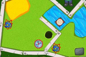 《矮人高尔夫》游戏画面1