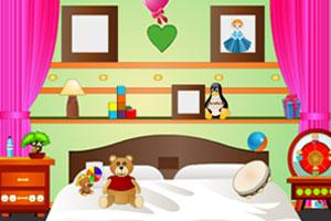 《逃出迷你儿童房》游戏画面1