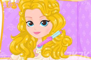 《美女的漂亮的发型》游戏画面2