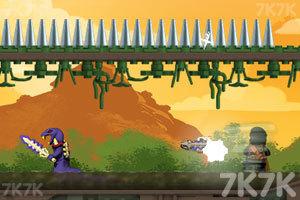 《旋转忍者大战妖怪》游戏画面2