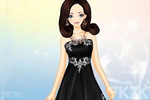 《漂亮的薄纱礼服》游戏画面2