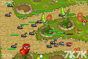 《花园塔防战2无敌版》游戏画面3