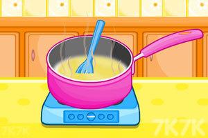 《制作糖果蛋糕》游戏画面1