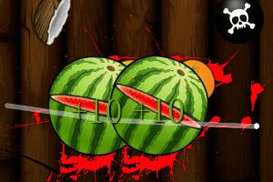 《武士削水果》游戏画面1