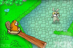 《兔老爹寻找胡萝卜无敌版》游戏画面1