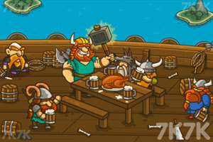 《海盗抢滩登陆战》游戏画面1