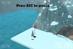 《冰地高尔夫》游戏画面2