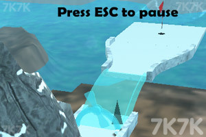 《冰地高尔夫》游戏画面3