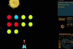 《空间站防御》游戏画面1