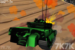 《疯狂驾驶之坦克联盟》游戏画面5
