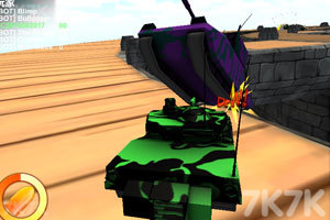 《疯狂驾驶之坦克联盟》游戏画面6