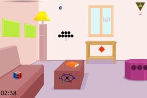 《逃离拼图盒子房间》游戏画面1