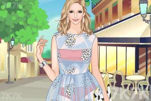 《少女的春天》游戏画面2