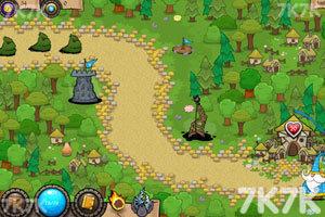 《保卫花园无敌版》游戏画面3