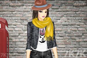 《摇滚女孩打扮》游戏画面2