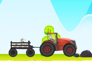 《狂暴的拖拉机》游戏画面1