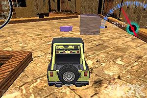 《3D吉普车停靠》游戏画面1