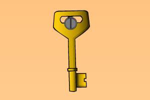 找出五把钥匙