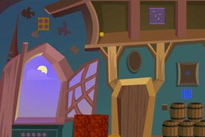 《黄昏城堡逃脱》游戏画面1