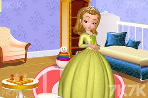 《安贝儿公主布置房间》游戏画面1