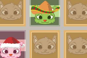 《猫咪纸牌记忆》游戏画面1