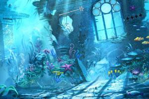 《逃离梦幻水下城堡》游戏画面1