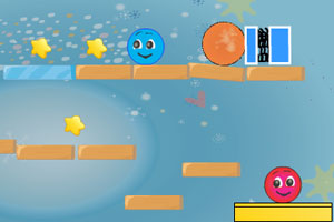 《蓝球和红球4》游戏画面1