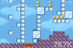 《冰块小人历险记》游戏画面1