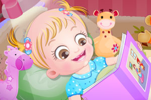 《可爱宝贝拼图书》游戏画面1