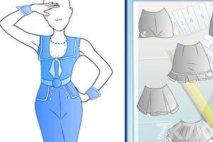 《时尚的水手服饰》截图3