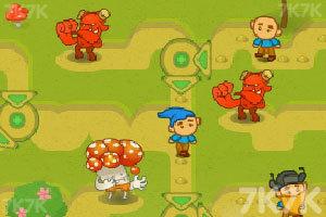 《小矮人回家遇险记》游戏画面2