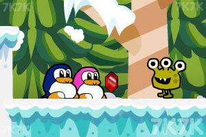 《企鹅爱吃鱼3新大陆》游戏画面1