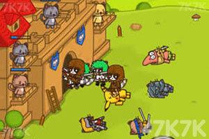 《猫咪背水一战》游戏画面5