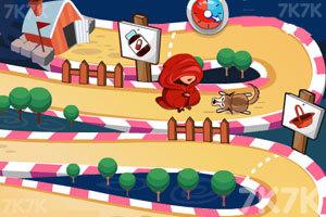 《勇敢的小红帽》游戏画面3