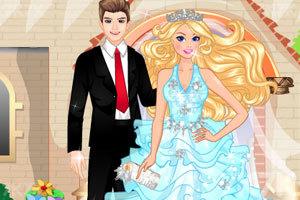 《时尚的芭比新娘》游戏画面2