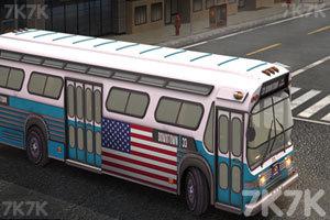 《美国大巴车停靠》游戏画面1