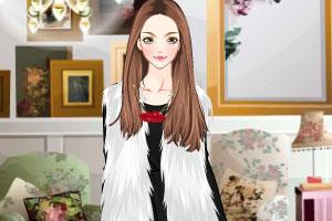 《时尚皮草装》游戏画面2