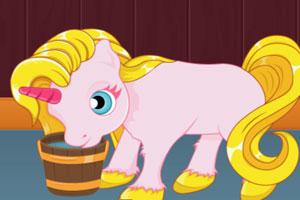 《照顾可爱小马驹》游戏画面1