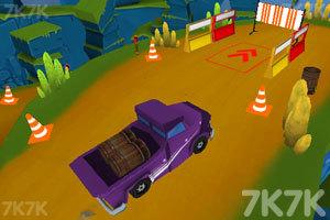 《环山路上的货车郎》游戏画面3