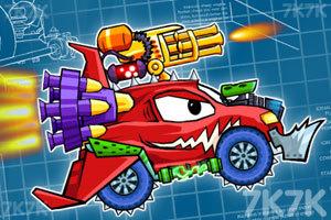 《大车吃小车4》游戏画面1