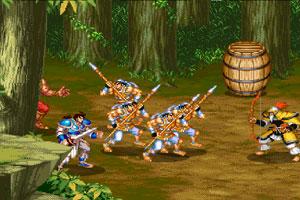 《三国志三人版》游戏画面1