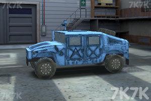 《停靠越野军车》游戏画面3
