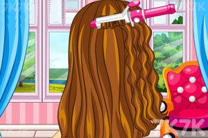 《新娘子的完美发型》游戏画面2