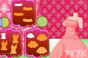 《人鱼公主做裙子》游戏画面2