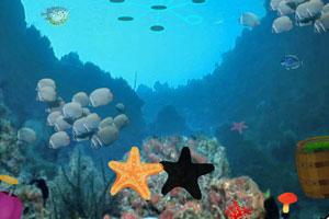 《水下洞穴逃生》游戏画面1