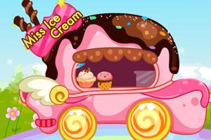 《可爱的冰淇淋车》游戏画面1