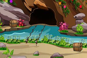 《小溪洞穴逃脱》游戏画面1