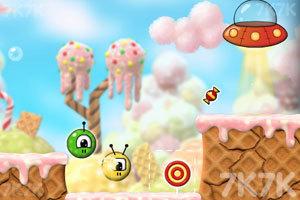 《外星人玩转糖果世界》游戏画面4
